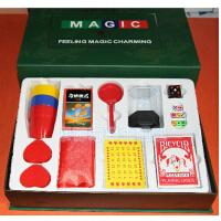 魔术套装/刘谦魔术道具/魔术荟萃绿礼盒/奇迹魔术 魔术世界