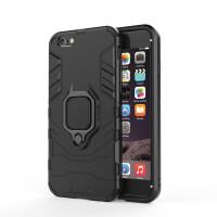 �O果8plus手�C�と�防摔防滑iphone xs��d�[形支架max磁吸指�h�硬散��7plus新款6s