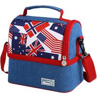 保温双层野餐冰袋饭盒袋手提包加厚盒袋子上班族夏天带饭神器保冷