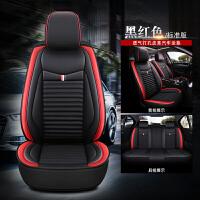 汽车坐垫四季通用全包围座套亚麻布艺座椅套ins网红冬季全包座垫