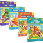 (198减40)【3-8岁基础练习4册】School Zone Giant workbook Alphabet Pre