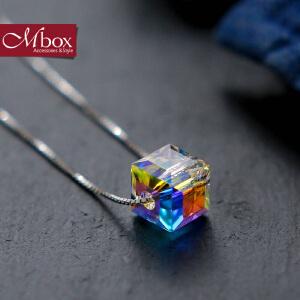 新年礼物Mbox项链 女韩国版原创采用施华洛世奇元素水晶锁骨项链 盛夏果实