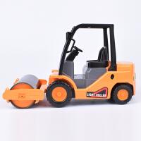 惯性工程车压路机滚轮式压路机铺路机儿童惯性车玩具汽车模型