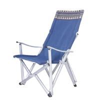 户外超轻铝合金折叠椅子靠背椅钓鱼椅休闲椅家用便携式午休椅躺椅 巨川椅-加高可靠头-
