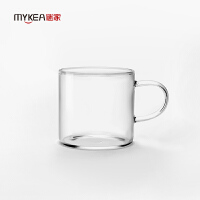 【当当自营】谜家 玻璃茶杯喝茶杯办公杯红茶绿茶杯茶具配件喝水杯 香茗杯6只装