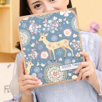 创意浪漫粘贴式拍立得宝宝成长纪念册相册影集本手工情侣韩国
