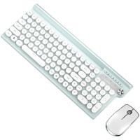 狼途牧马人无线键盘鼠标套装静音无声可充电式机械手感电竞游戏专用巧克力台式电脑笔记本办公女生可爱小便携