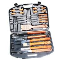 手提箱式烧烤工具用品 不锈钢 户外便携组合套装 烘烤器具