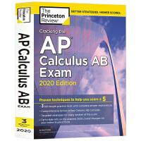 破解AP微积分AB考试2020版 英文原版 Princeton Review Cracking the AP Calc