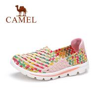 【每满200减100】Camel/骆驼女鞋 轻盈百搭休闲鞋 舒适豆豆鞋健步鞋
