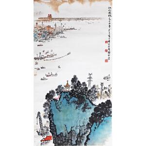 D-1-30  钱松喦  山水