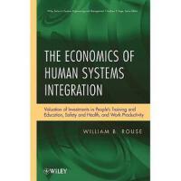 【预订】The Economics of Human Systems Integration 978047048676