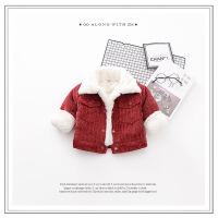 货比迪士尼巴拉巴拉等加厚加棉男女宝宝冬装加绒棉衣外套0-1-2-3岁韩版女童婴儿棉袄