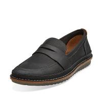 Clarks其乐男鞋真皮套脚英伦时尚驾车休闲鞋Grafted Edge专柜正品