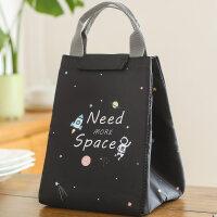 保温饭盒手提袋铝箔加厚装午餐的袋子便当包女可爱带饭包保暖饭袋