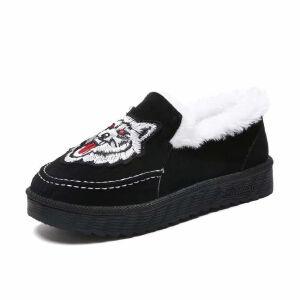 WARORWAR新品YM151-J729-1冬季韩版平底舒适女士雪地靴
