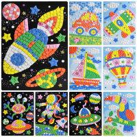 儿童手工 水晶马赛克制作钻石幼儿园EVA贴画粘贴纸diy创意材料包