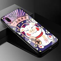 vivox23手机壳玻璃女款潮牌logo phone个性防摔全包边硬壳vivo步步高x23软硅胶保护 vivo X23