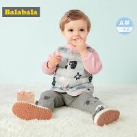 【10.22超品 3折价:53.7】巴拉巴拉童装男童马甲婴儿秋装新款宝宝坎肩儿童背心羽绒女婴