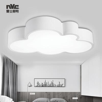 雷士照明LED卧室灯吸顶灯儿童房灯创意简约现代房间男孩女孩灯具