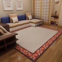 地毯客厅茶几毯 长方形少女 公主卧室床毯垫可机洗块毯灰色 浪漫花朵 色