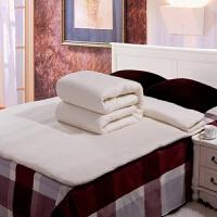 被子冬被全棉加厚纯棉胎棉被冬被新疆棉絮垫被床垫被芯手工棉花被 1.2x1.5米 婴儿被