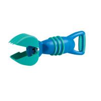 Hape灵巧抓沙斗 红色 蓝色2-6岁沙滩抓沙斗玩具运动户外玩具