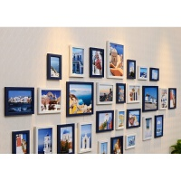 相框挂墙5寸7寸10寸地中海 创意客厅照片墙儿童韩式像框组合画框 经典超值款式
