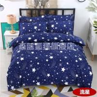 温馨夏天韩版被套双人单件被罩星空加厚用品新款梦幻布料双人床