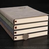 笔记本a5b5高档皮面文具本子加厚复古记事本商务日记本定制logo