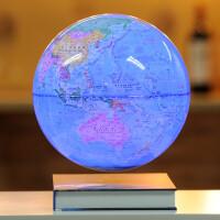 磁悬浮地球仪发光自转8寸球体办公室桌面摆件创意工艺品礼品饰品