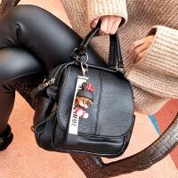 手提包女 韩版2018新款 个性时尚多用包女单肩双肩斜挎7多功能包SN5869