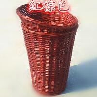 水果篮藤编堆头筐柳编收纳筐超市水果陈列筐竹藤框编织展示堆头篮