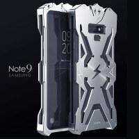 三星Note9手机壳防摔三星Galaxy Note9保护壳金属边框雷神钢铁侠 三星Note9专用-雷神-银色