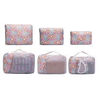 旅行收纳袋 牛津布衣物整理袋行李箱分装袋出差收纳包套装大容量