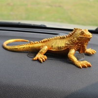 汽车摆件创意内饰用品蜥蜴车载车饰车内饰品摆饰车上动物装饰品