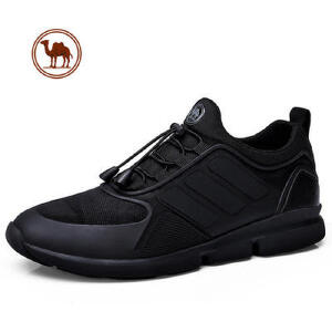 骆驼牌男鞋 新款男士透气休闲鞋 缓震户外运动鞋男跑步鞋潮鞋