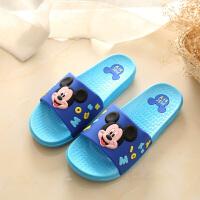 儿童凉拖鞋室内男童厚底防滑卡通中大童浴室洗澡拖鞋夏季