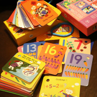 美乐儿童3-6岁幼儿启蒙益智小学生单词卡片早教闪卡英语卡片识字