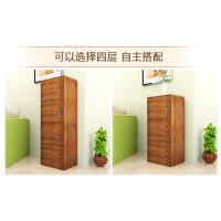 【限时7折】大号书柜柜床头柜衣物收纳柜简易木柜子储物柜带门带锁置物柜