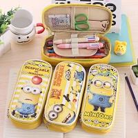 小黄人笔袋铅笔袋创意文具袋 简约韩国男女学生儿童学习用品