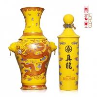 五粮液股份公司 52度真龙酒帝王黄2.25L 大坛装