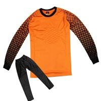 运动套装足球守门员球衣套装长袖长裤门将服套装儿童门将服速干排汗 透气舒适