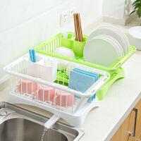 多功能置物架厨房用品沥水架塑料放碗架子厨具碗筷碗碟架碗架菜架