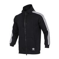 Adidas阿迪达斯 男装 三叶草运动休闲连帽夹克外套 CW5068