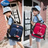 迪士尼书包1-3-6五年级小学生男减负耐磨轻便男孩儿童双肩包背包