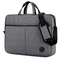 笔记本电脑包14寸防震男女15.6英寸单肩手提斜跨