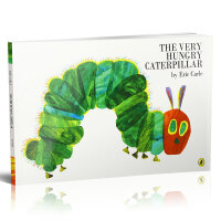 The Very Hungry Caterpillar [Paperback] 好饿的毛毛虫(平装,英国版)ISBN9