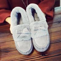 冬季棉拖鞋女新款个性居家保暖加绒韩版时尚包跟室内百搭情侣