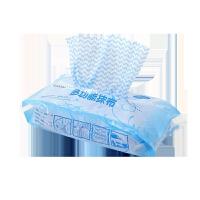 抽取式无纺布抹布一次性清洁布厨房洗碗布吸水基本不沾油擦手巾摸布不掉毛大�{布厨房洗用布厨房�{布 混色(4 包320 抽)